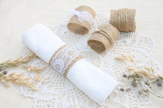 ENSEMBLE de 120 anneaux de serviette mariage de par FriendlyEvents