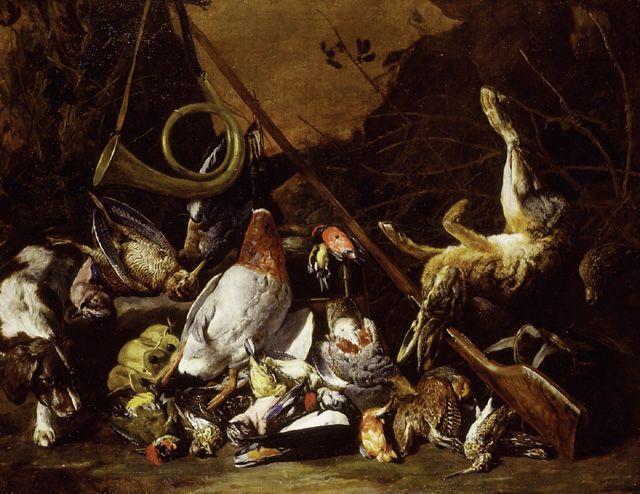 ~ Living a Beautiful Life ~ Pieter Boel - Still Life of Game - Ashmolean Museum
