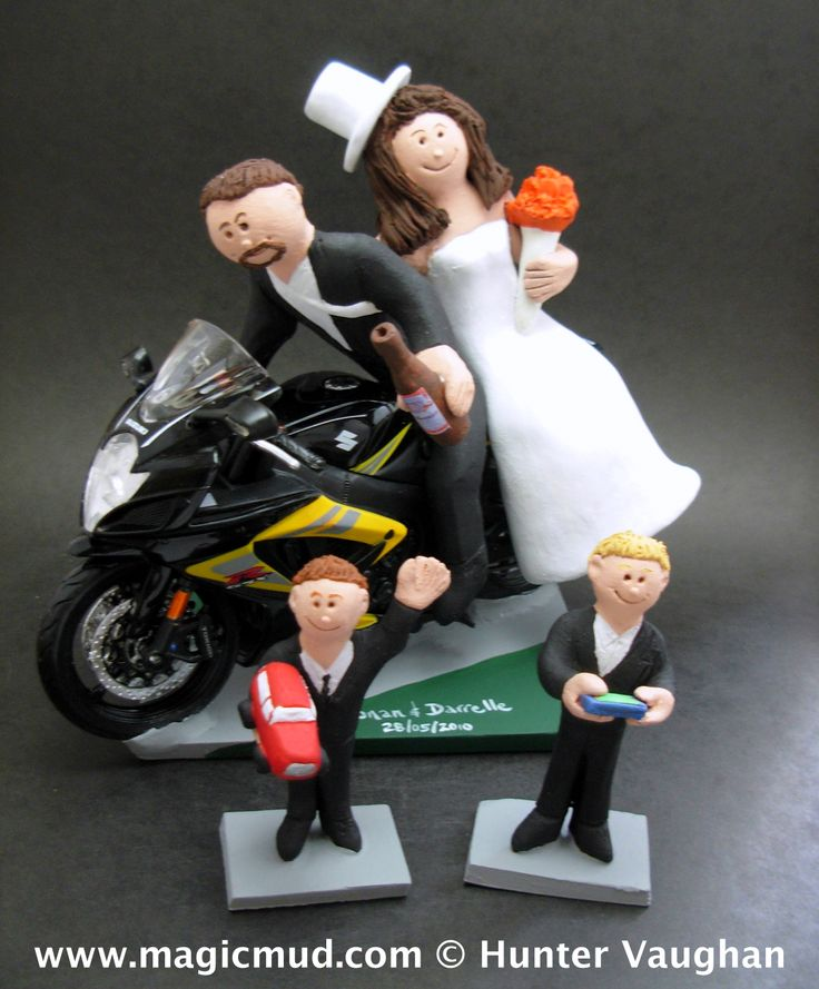 motorcycle cake topper suzuki sportbike motorcycle wedding cake topper http www 6052