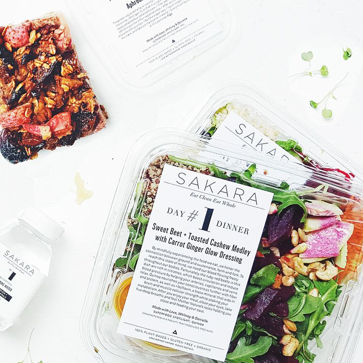 "Let Sakara reset and revitalize your week! After three days of Sakara, you'll feel healthier and more vibrant than ever, just in time to enjoy your weekend. First time? Click on ""How It Works"" to read"