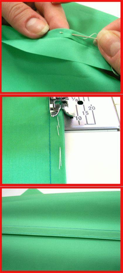 Costura francés: el tratamiento ideal para telas finas    Costura francés - una clase magistral de Anastasia Korfiati