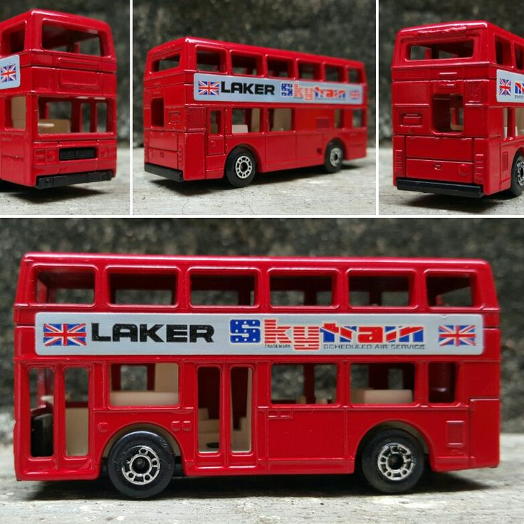 London bus by Matchbox - Lesney