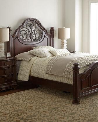 villanova king bedroom set