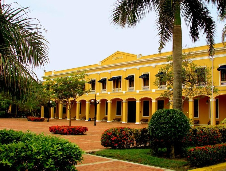 Razón:Edificio y Plaza de la Aduana Barranquilla, Colombia como referencia a los patrimonios de la ciudad, y serviria para la diagramacion en cuanto su estructuras