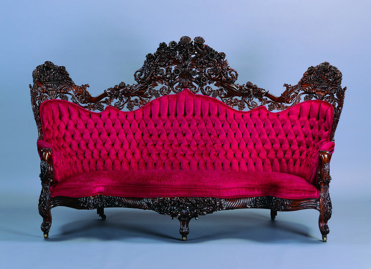 From the Collection–John Henry Belter Sofa - 141 Best Victorian Furniture Images On Pinterest Victorian