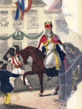 Sinterklaas, een middeleeuwse superheld