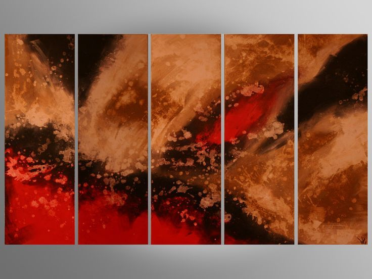 Price Is $380.00 Entire painting measures: 60×36″Each piece measures: 12×36″ – This painting is original and signed by the artist Moran Danan – This painting is quality professionally stretched on wood, and ready to hang on any wall. – This painting is st