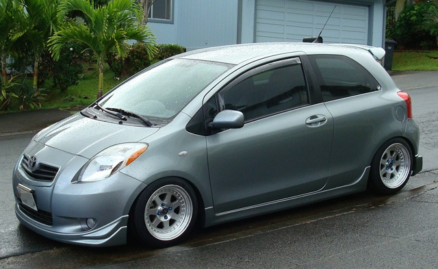 please post pics of your yaris with aftermarket rims here page 65 toyota yaris forums. Black Bedroom Furniture Sets. Home Design Ideas