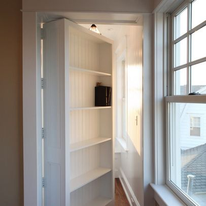 hidden bookcase door plans hidden bookshelf door kit. Black Bedroom Furniture Sets. Home Design Ideas