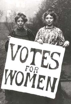 These women endured abuse and arrests so that we could vote. Please don't forget that on Tuesday.