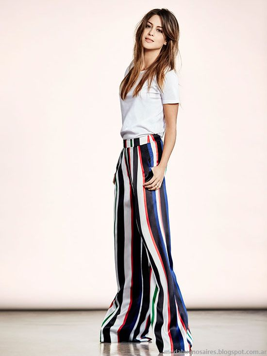 Moda 2016 | Moda 2017. Moda primavera verano 2017. Looks, moda urbana. Marcas y diseñadores de ropa, calzado y accesorios en Buenos Aires, Argentina.