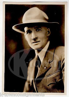 COLONEL JOHN R. WHITE BRITISH SOLDIER IWAHIG PENAL COLONY OLD PRESS PHOTO 1937