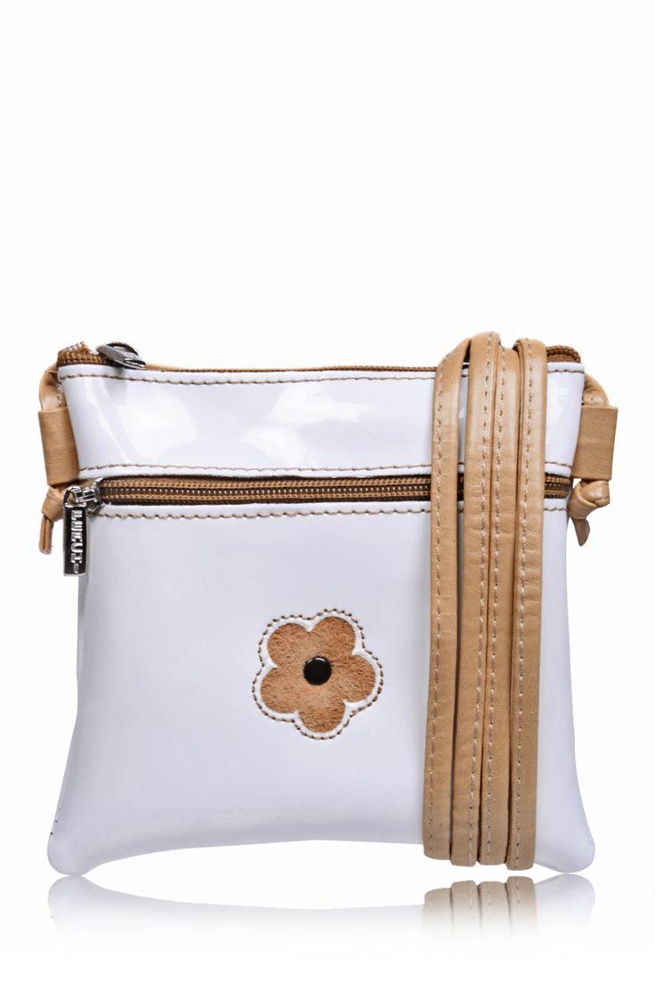 #FERCHI  MINI DAISY White Patent Crossbody Bag   Price: € 33.00