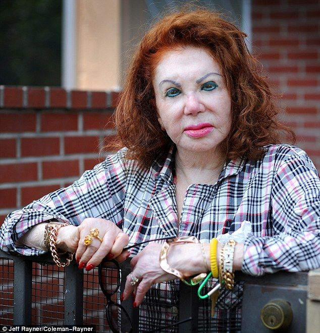 "Jackie Stallone, Sylvester's mother, says: ""Who else do you know who looks this good at 91?"" Mind you, she does think she's had too much filler and said she now looks like a chipmunk with a mouthful of walnuts! Read her story at this link - it's very entertaining!"