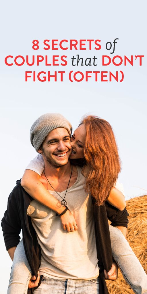 8 secrets of couples that don't fight
