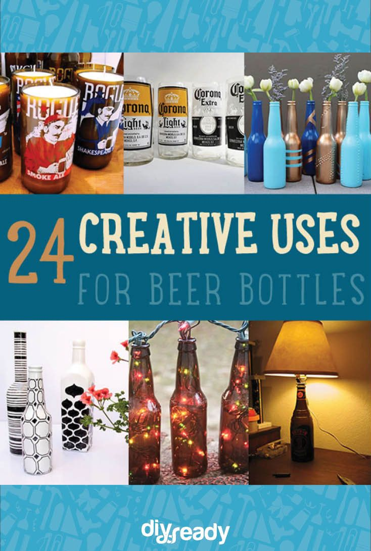 24 Creative Uses for Beer Bottles