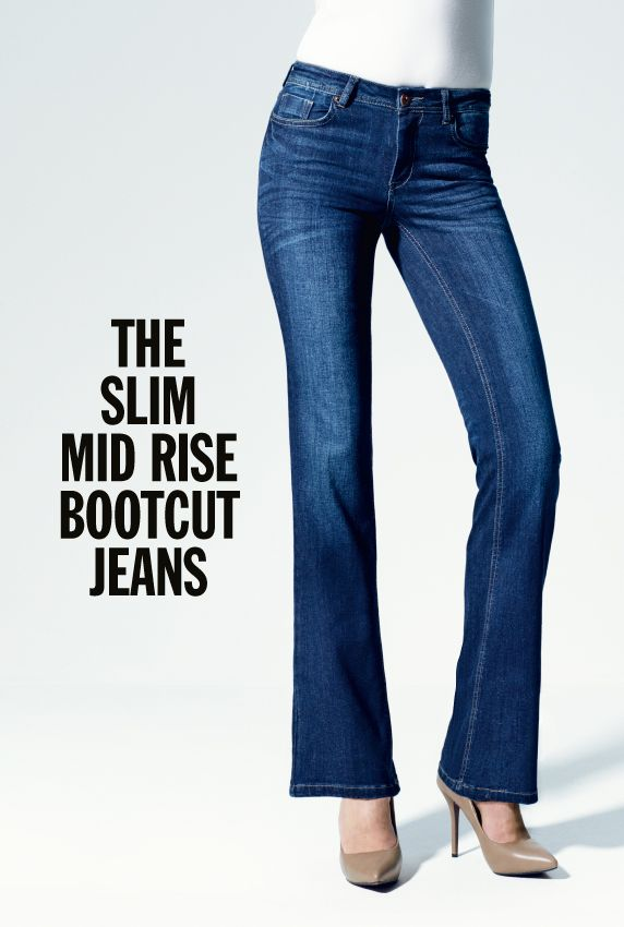 Classic bootcut jeans