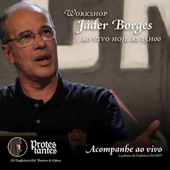 Confira o Workshop de Jáder Borges  A Vulnerabilidade de meninas as 16h00. Acesse: http://ministeriofiel.com.br/aovivo  Compartilhe com seus amigos!