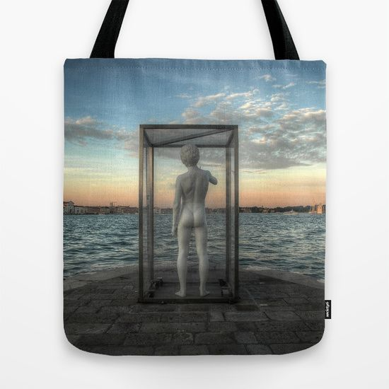 "TOTE BAG	/ 16"" X 16"" The gates of Venice by LaCatrina.it"