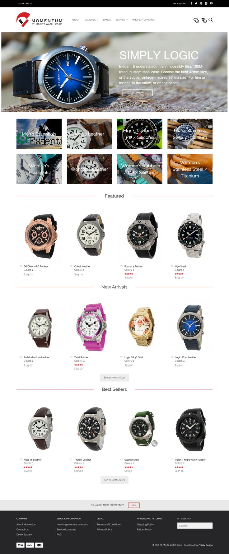 momentumwatch.com, built using Mr Tailor http://themeforest.net/item/mr-tailor-responsive-woocommerce-theme/7292110?&utm_source=pinterest.com&utm_medium=social&utm_content=momentum&utm_campaign=showcase #watches #bestsites #wordpress #design #ecommerce