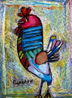 Check out student artwork posted to Artsonia from the Picasso's Rooster project gallery at Cathedral School.