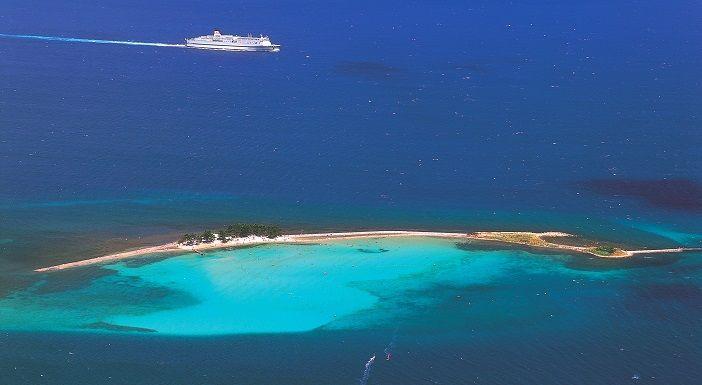 地元の海 水島