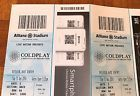 #Ticket 2x Coldplay Tickets 13th Of December Allianz Stadium NSW Sold Out Silver Area! #Australia
