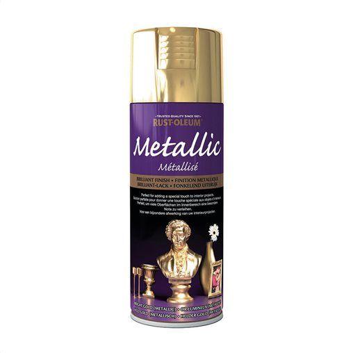 Χρώμα σπρέυ RUST-OLEUM μεταλλικό χρυσό 400 ml