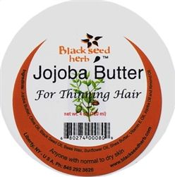 Ginkgo Jojoba Hair Butter for Thinning Hair.