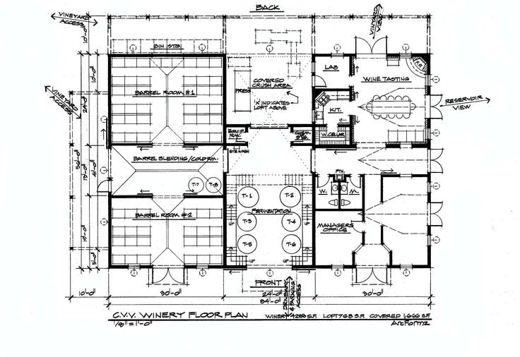 109 best wine culture center images on pinterest car for Winery floor plans by architects