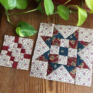 Block 47 & Penny block. http://betsysbestquiltsandmore.blogspot.com/