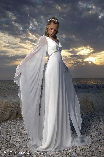 17 best images about female elves costume on pinterest for Elven inspired wedding dresses