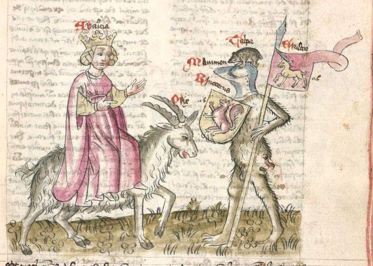 Speculum humanae salvationis. Memento mori-Texte [u.a.] Bayern - Österreich, I: zwischen ca. 1440 - 1466, II: um Mitte 15. Jh., III: 2. Viertel 15. Jh. Cgm 3974  Folio 73