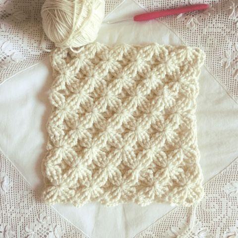 Crochet Stitch + Diagram + Video Tutorial