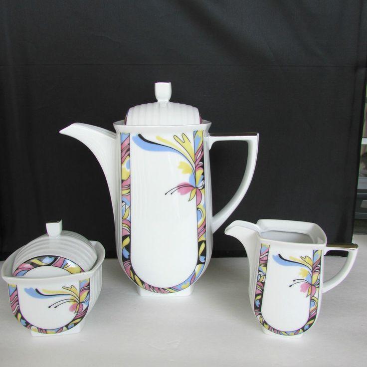 THUN Studio 1794 LISETTE Porcelain Demitasse EXPRESSO/TEA SET Czech Republic