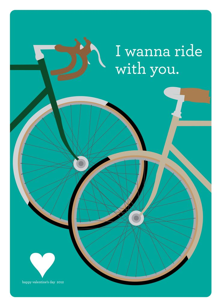 I wanna ride with you.