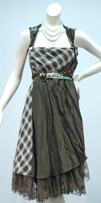 Cheriena Wrap Dress - Chameleon - Online Store - Annah Stretton