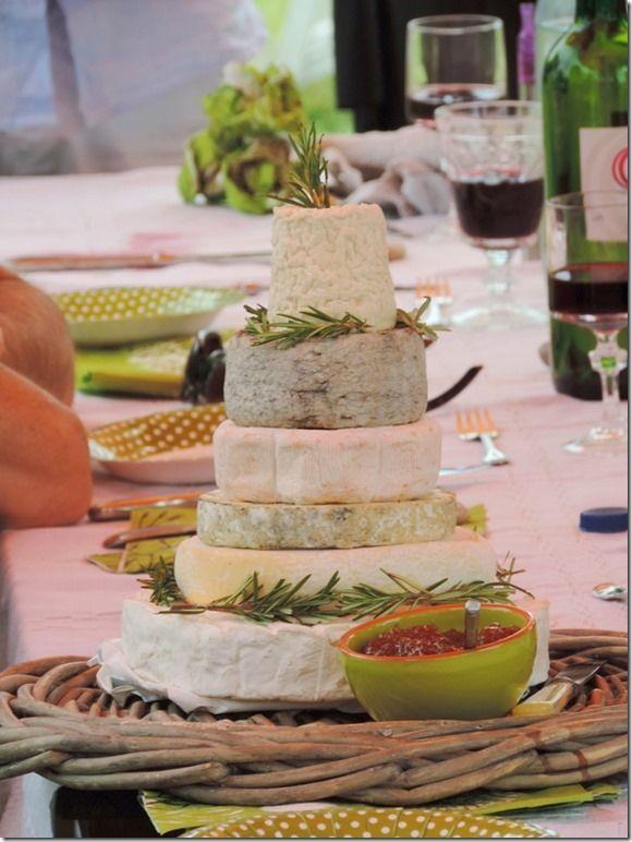 """Fromages façon """"wedding Cake"""" sur le blog """"Pivoine et Lavande"""""""