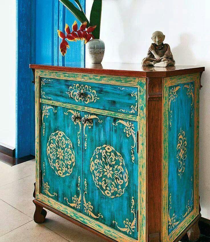 Vintage Bedroom Design Ideas Turquoise Bedroom Paint Ideas Bedroom Decor Items Bedroom Ideas Mink: Painted Furniture
