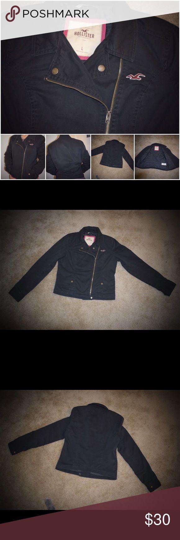 Hollister jacket women New like. Color  navy blue Hollister Jackets & Coats