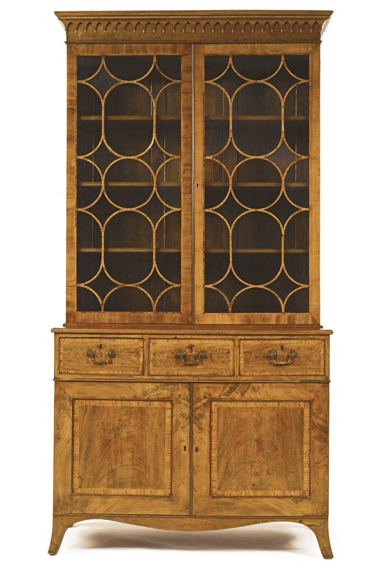 A George III inlaid mahogany bookcase dressing cabinet  Georgian FurnitureEuropean  FurnitureAntique FurnitureMahogany. 830 best Furniture images on Pinterest   19th century  Antique
