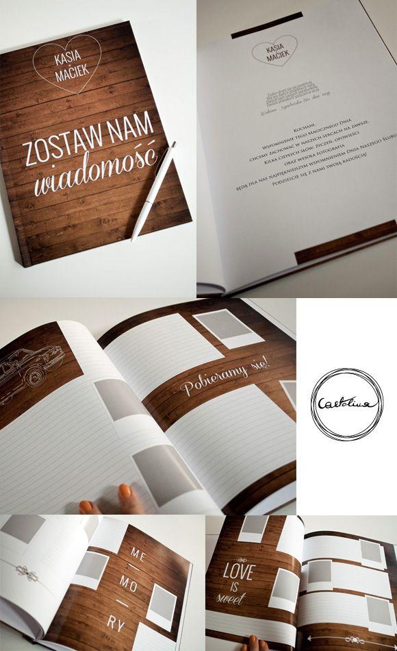 Kolekcja Drewaniana dolina by Cartolina #ślub #drewno #rustykalne #zaproszenia