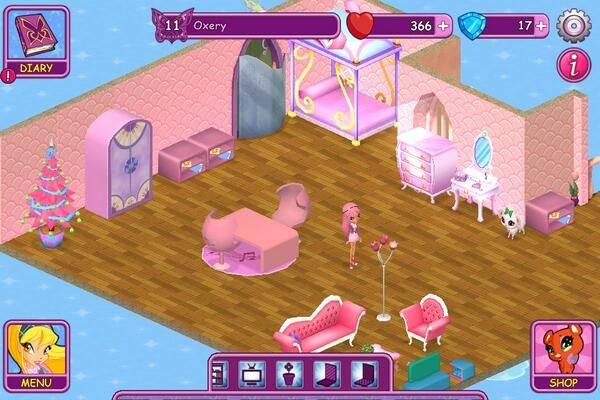 Winx Fairy School dorm by Oxery