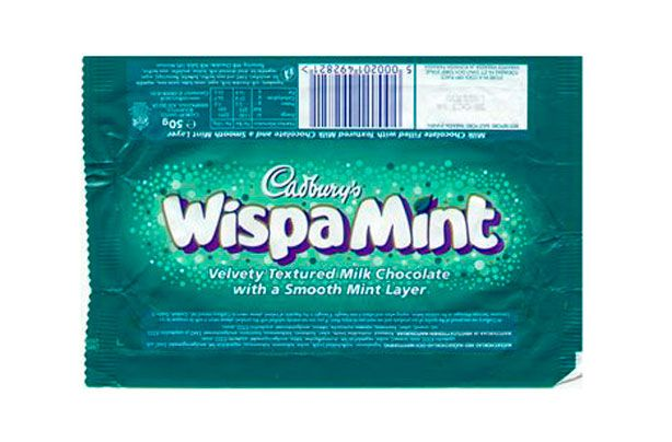 28 retro chocolate bars that need to be brought back IMMEDIATELY - goodtoknow -Wispa Mint