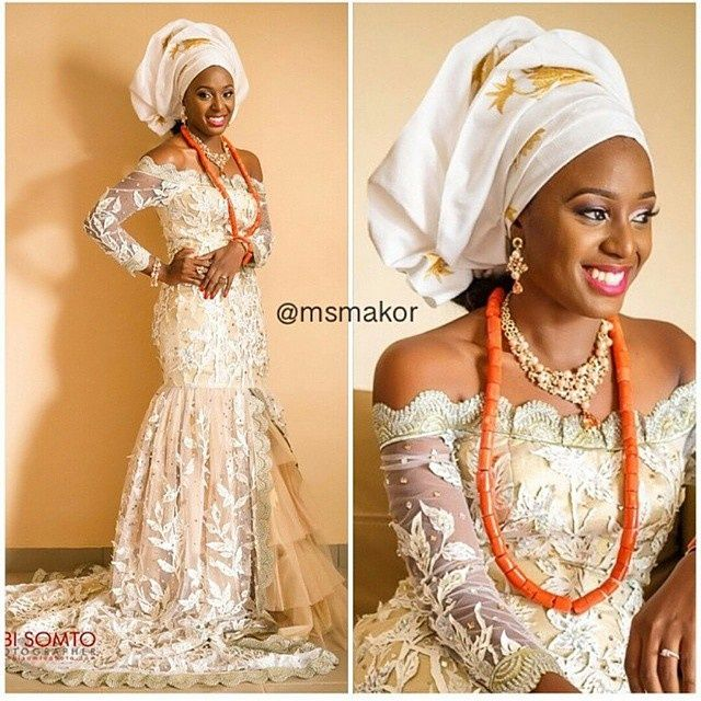 Traditional nigerian bride latest african fashion for Current wedding dress styles