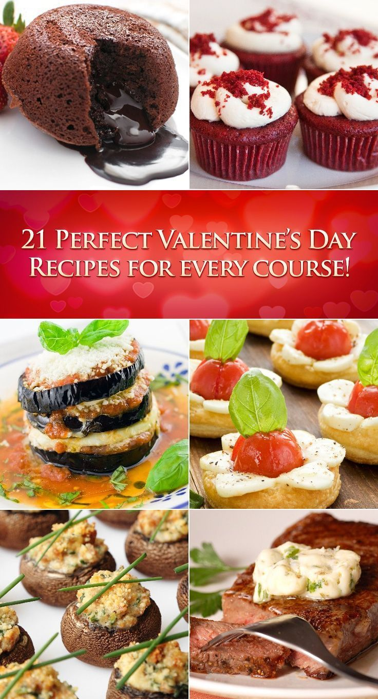21 Perfect Valentines Day Recipes for Every Course