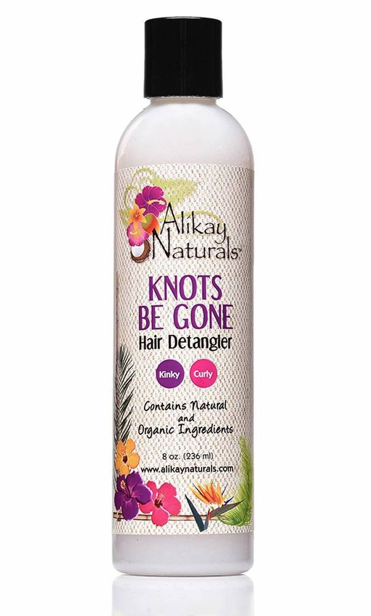 Alikay Naturals Knots Be Gone Hair Detangler 8oz In 2020 Coconut Oil Hair Treatment Soften Hair Coconut Oil Hair Growth