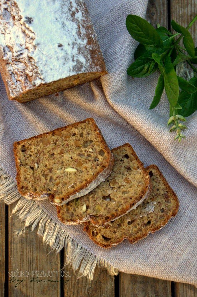 Ciasto bananowe z orzechami (bez masła) z bloga Słodkie Przyjemności