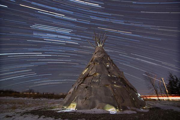 ティピーと星の軌跡、バーモント州