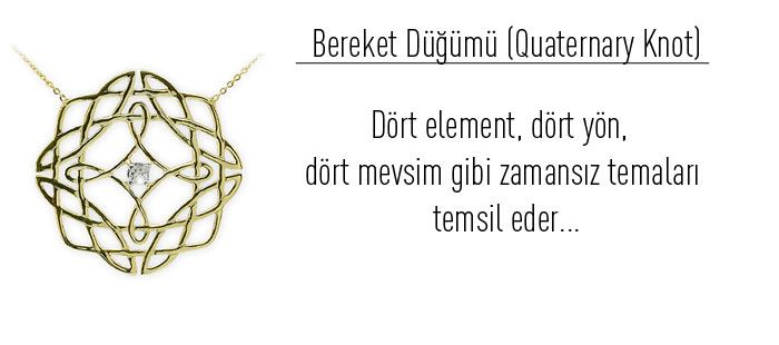 Pırlantalı Altın Kelt Düğüm Sembolleri : Ariş Pırlanta